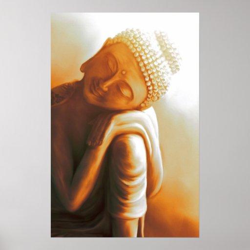 resting Buddha II Posterdrucke