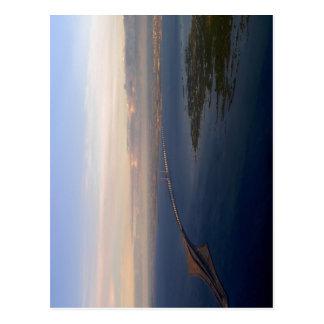 ? resund Brücke von Dänemark nach Schweden. Auf Postkarte