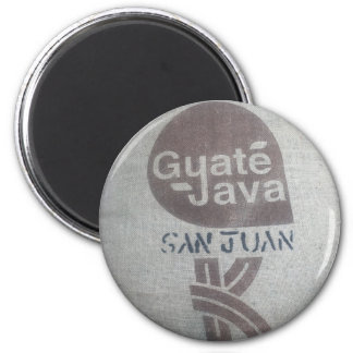 Resurgam Kaffee-Magnet - rund (bag2) Runder Magnet 5,7 Cm