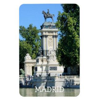 Retiro Park, Madrid, Spanien Magnet