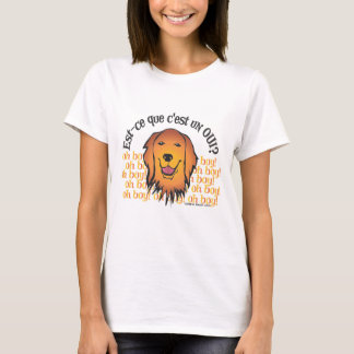 Retriever sagt Oui! T-Shirt