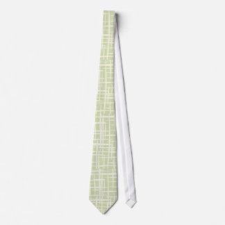 retro 50er blasses es-grün kitche Vintage Personalisierte Krawatten