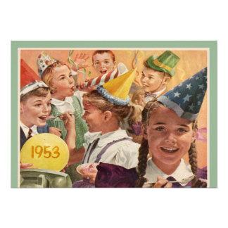 Retro 60 Geburtstags-Party-Kindheits-Erinnerungen