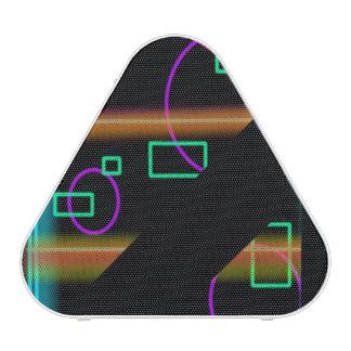 Retro abstrakter Chaos Pieladium NeonLautsprecher Bluetooth Lautsprecher