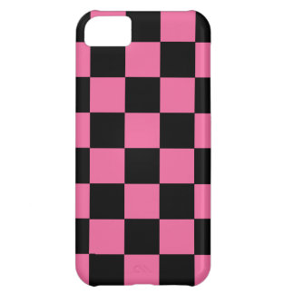 Retro Achtzigerjahre iPhone5 rosa Schachbrett-Fall iPhone 5C Cover