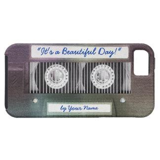 Retro Achtzigerjahre Kassette mit glücklicher Etui Fürs iPhone 5