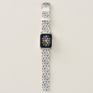 Retro Ananas-Muster Apple Watch Armband