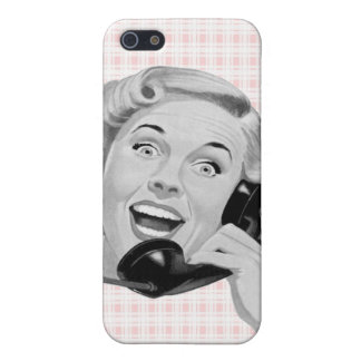 Retro Anrufer (b) iPhone 5 Cover