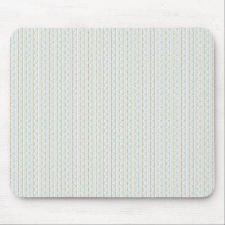 Retro Art-Hochzeits-Muster Mousepads