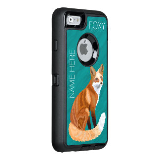 Retro Art iphone6 Zrote Fox niedliche addieren OtterBox iPhone 6/6s Hülle
