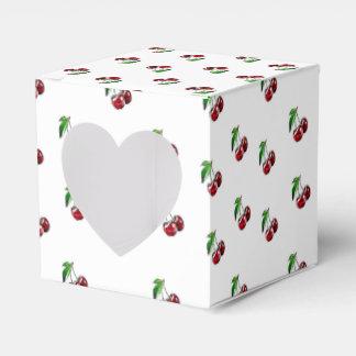 Retro Art-Kirschsüßigkeits-Herz-Kasten Geschenkschachtel