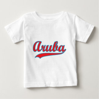 Retro Aruba Baby T-shirt
