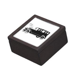 Retro Auto - der Vatertag Schachtel