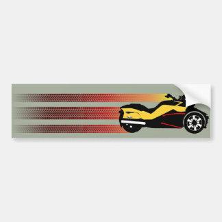 Retro Autoaufkleber der Dosen-morgens Spyder