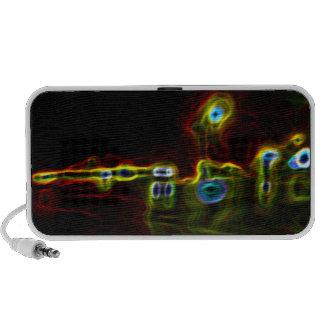 Retro Autos Laptop Lautsprecher