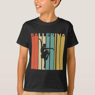 Retro Ballerina T-Shirt