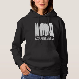 Retro Baton Rouge-Louisiana-Skyline Hoodie