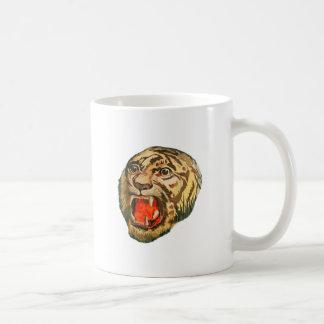 Retro bengalischer Tiger Kaffeetasse
