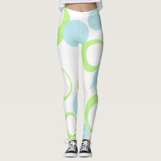 Retro Blasen Leggings