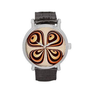 Retro Blume Digital Armbanduhr