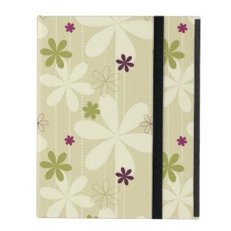 Retro Blumenhintergrund iPad Schutzhülle