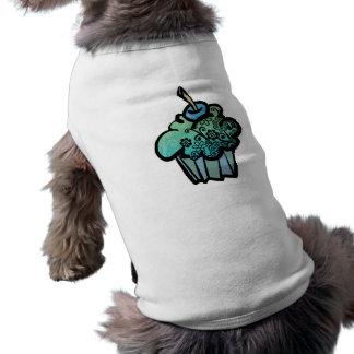 retro Blumenkleiner kuchen Shirt