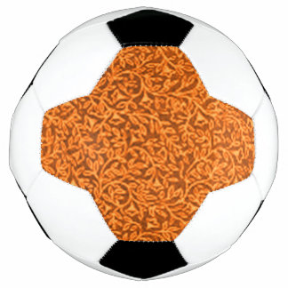 Retro BlumenMandarine Fußball