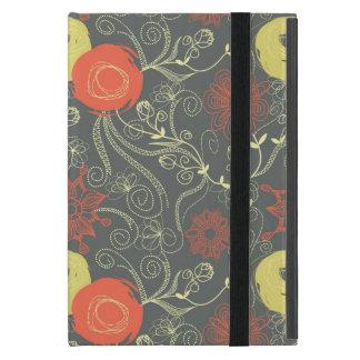 Retro Blumenmuster Etui Fürs iPad Mini