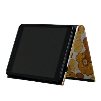 Retro blumiges hülle fürs iPad mini