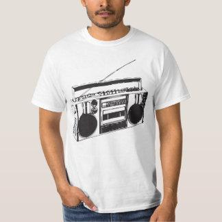 Retro BoomBox T Shirt