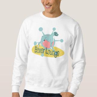 Retro Boxer-Aufenthaltsraum Sweatshirt
