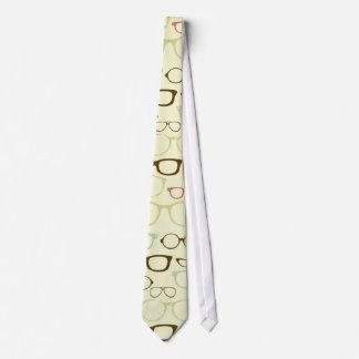 Retro Brillen-Hipster Krawatten