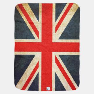 Retro britische Baby-Decke