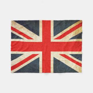 Retro britische fleecedecke