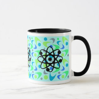 Retro Bumerang-Physik Tasse