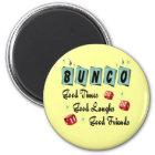Retro Bunco Runder Magnet 5,7 Cm
