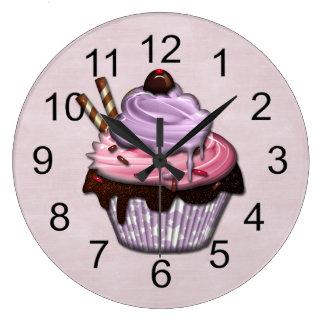 Retro bunte Party-kleine Kuchen Uhren