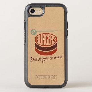 Retro Burger OtterBox Symmetry iPhone 8/7 Hülle
