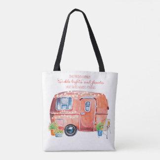 Retro Camper-Wohnwagen-Tasche Tasche