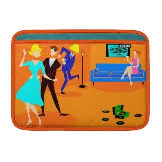 Retro Cartoon-Cocktail-Party MacBook Luft-Hülse MacBook Air Sleeve