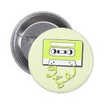 Retro Casssette Anstecknadelbuttons