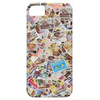 Retro Collage Case iPhone 5 Cases
