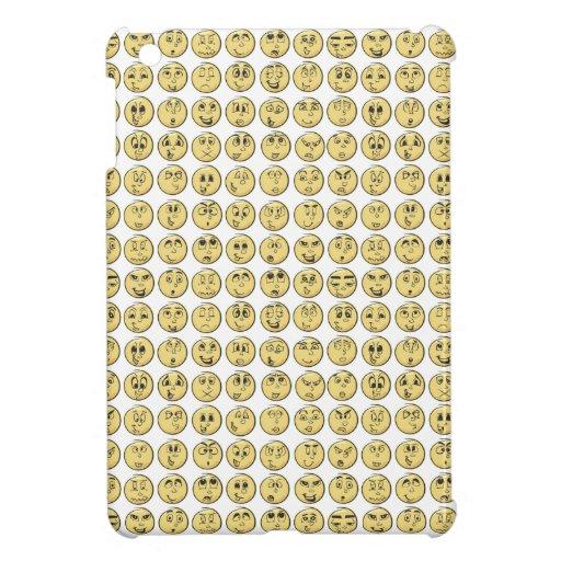 Retro Comic-Buch Emoji Muster iPad Mini Hülle