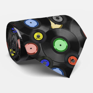 Retro die Plattenen-Krawatte der Männer Krawatten