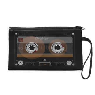 Retro DJ-Musik-Kassette MixTape Kosmetik-Tasche