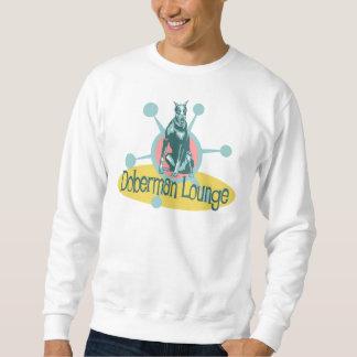 Retro Dobermann-Aufenthaltsraum Sweatshirt