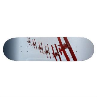 Retro Doppeldecker Individuelle Skateboarddecks