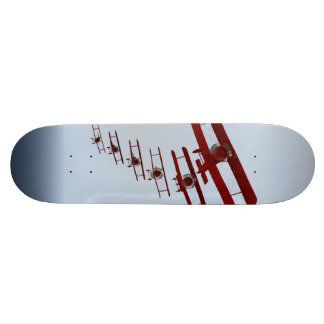 Retro Doppeldecker Personalisierte Skateboards