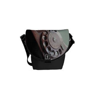Retro Drehskala-Telefon-Vintager Entwurf Kuriertasche