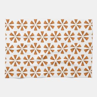 Retro Entwurf der einfachen Sternexplosion Handtuch